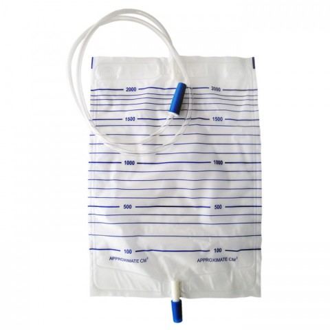 Urine Bag (push-pull valve)