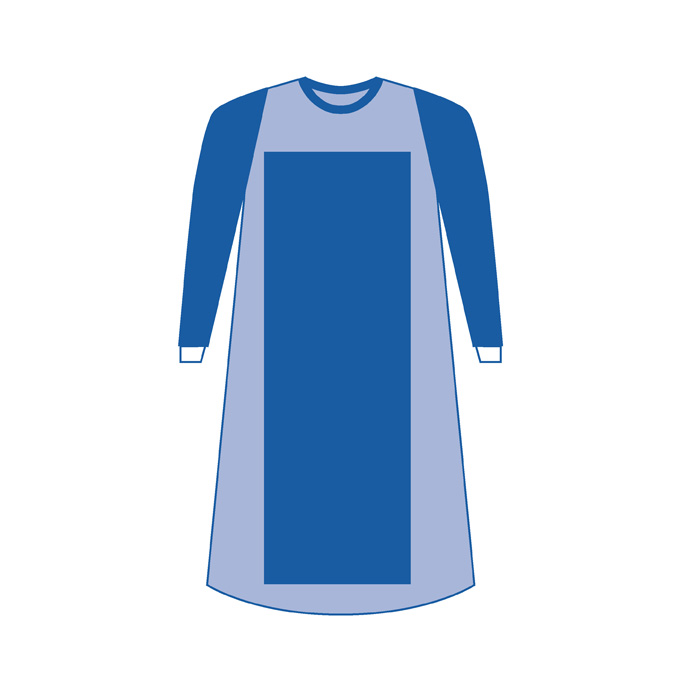 Non-woven Impervious Surgical Gown   SMD Medical